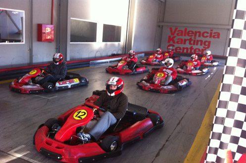 Unico trazado Indoor/Outdoor en Valencia.